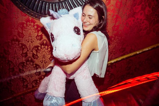 Bingo prize unicorn winner