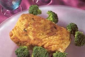 halibut with broccoli