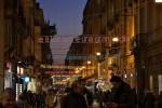 Christmas street illuminations in Italy