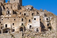 Ghost towns in the South of Italy