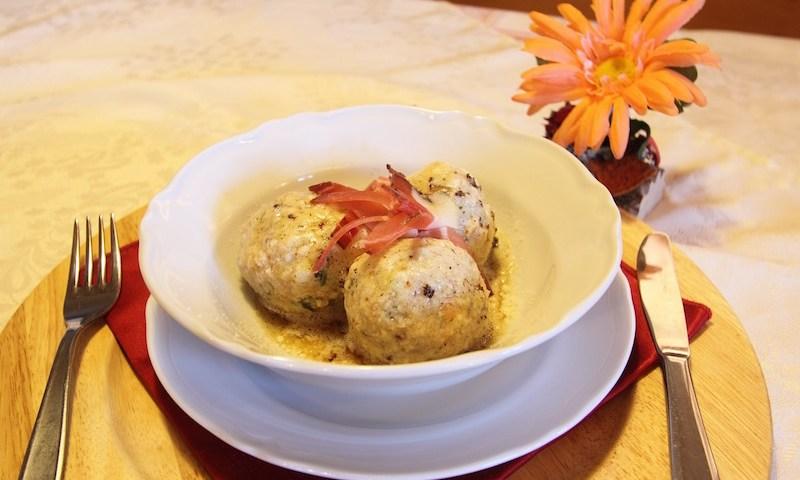 porcini dumplings