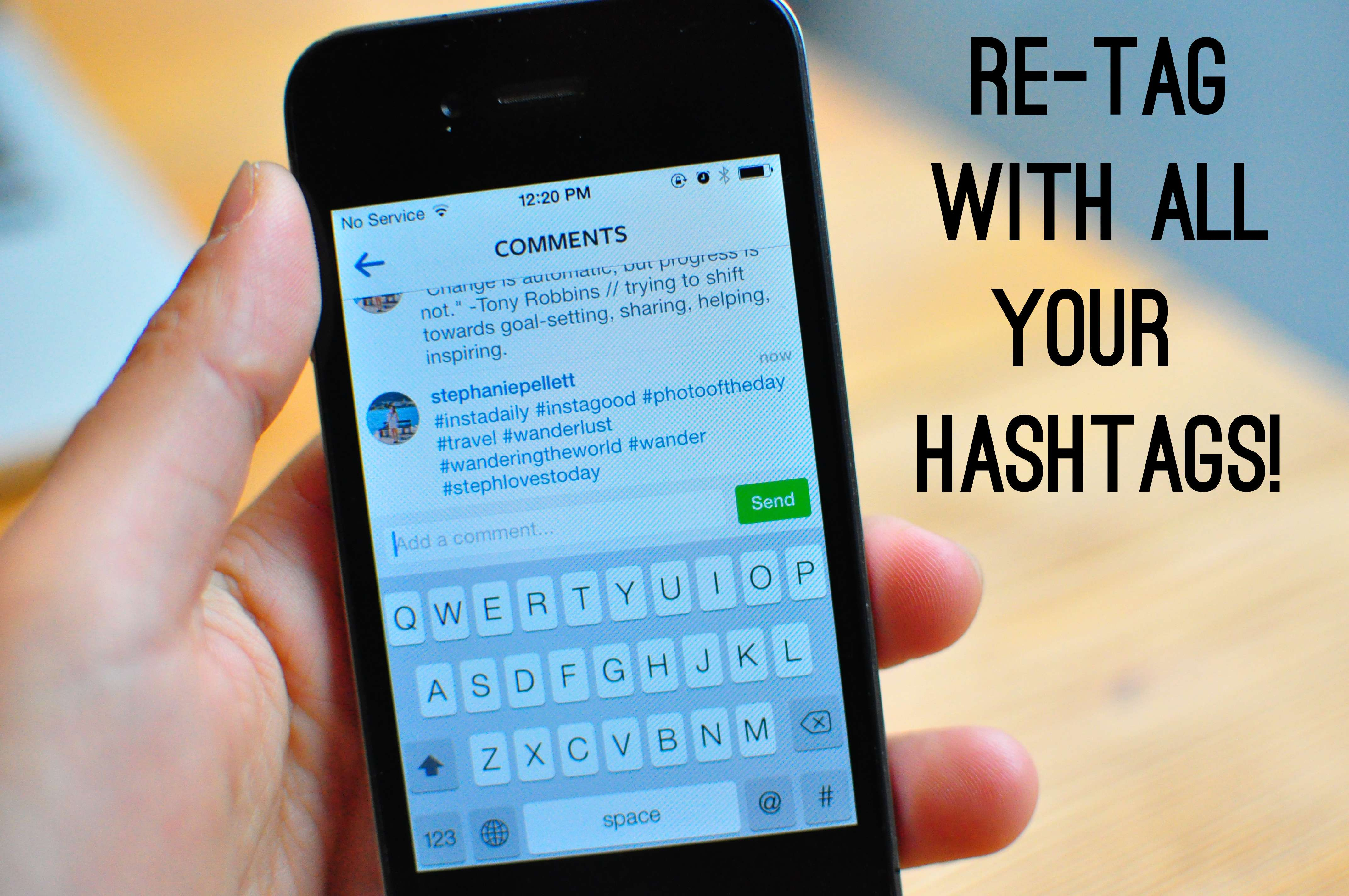 how to delete hashtag searches on instagram