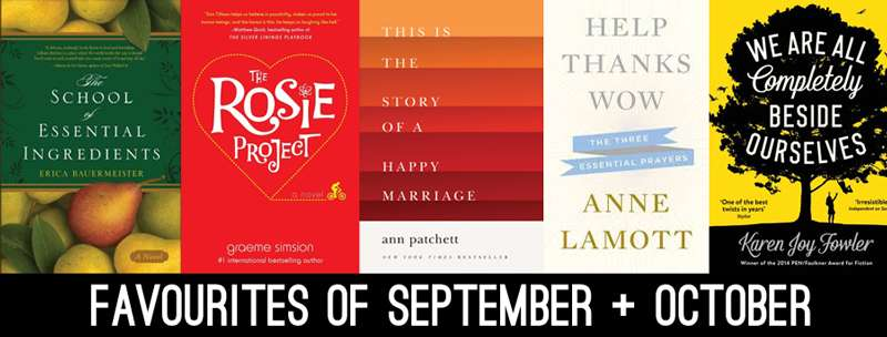 My Favourite Books of September + October >> Life In Limbo