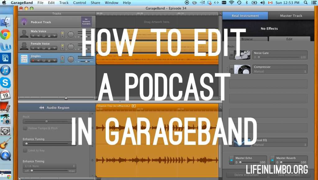 How To Edit a Podcast in Garageband