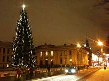 ' Beginning Lot Christmas In Oslo - Life