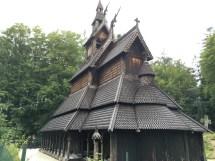 Fantoft Bergen' Magnificent Stave Church