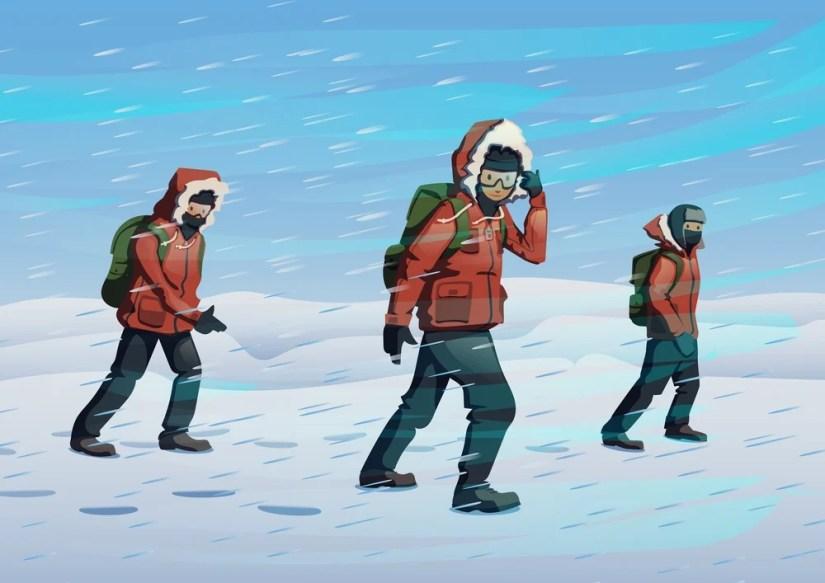 Polar explorers from Norway