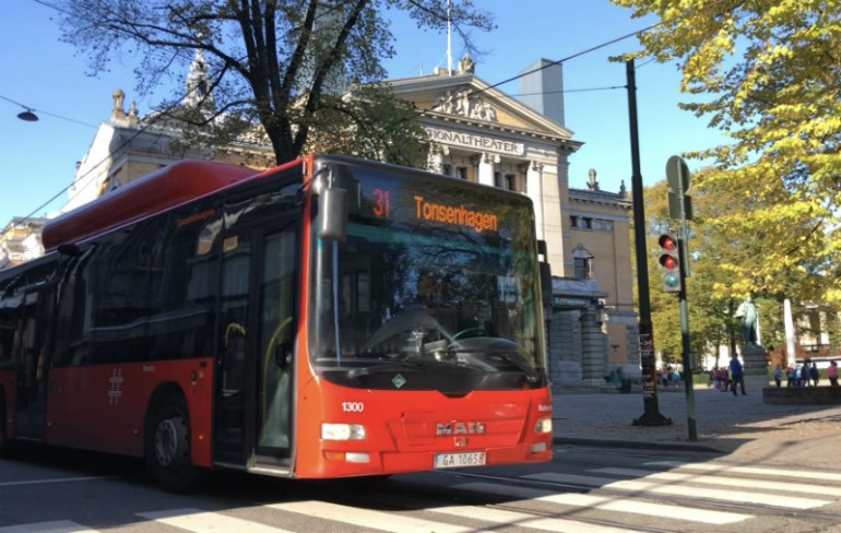 Transport, bus in Oslo