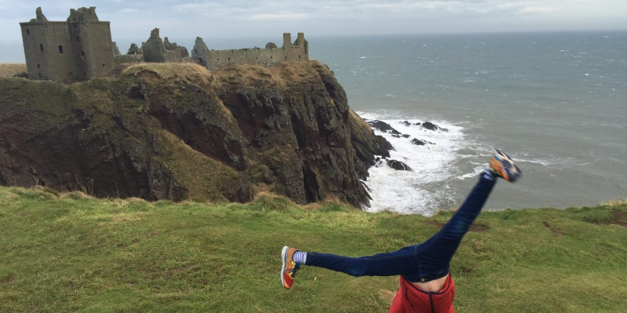 Dunnottar Castle, St Andrews & Edinburgh beckons tomorrow