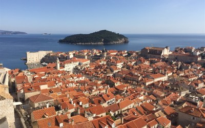 A History lesson around the ancient walls of Dubrovnik…