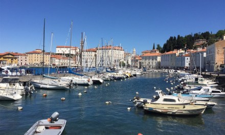 The Slovenian Riviera at Piran….