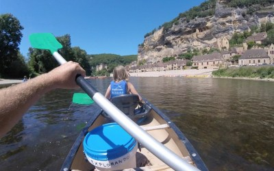Sense of deja vu kayaking down the Dordogne