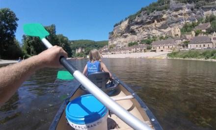 Sense of deja vu kayaking down the Dordogne