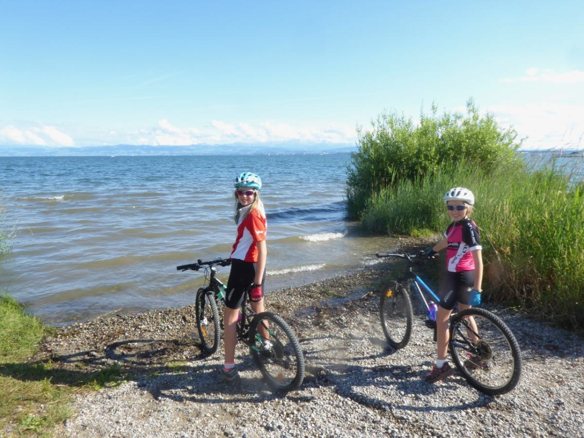 Germany   Exploring Lake Constance on a family bike ride
