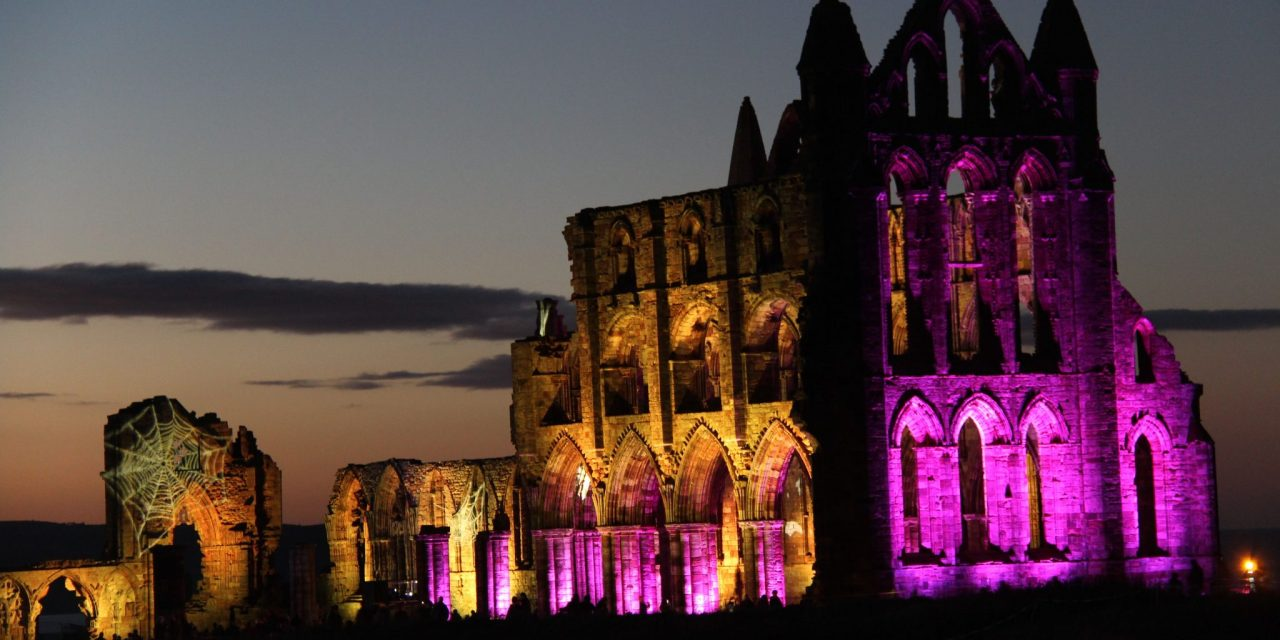 A Dracula Masterclass in Whitby Abbey Ruins