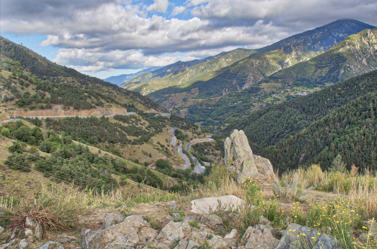 Andorra | Driving the Pyrénées into Andorra from France