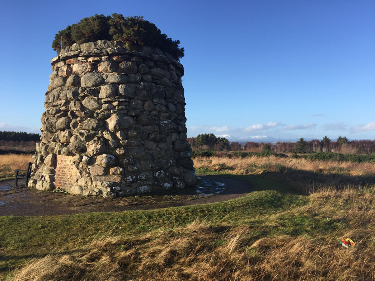 Culloden Moor - A brilliant piece of Scottish History at first hand....