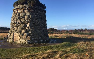 Culloden Moor – A brilliant piece of Scottish History at first hand….