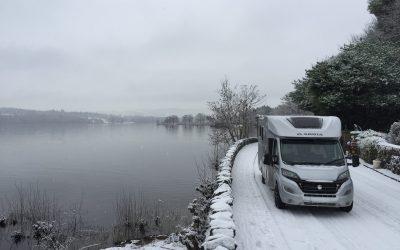 Driving a motorhome from Loch Lomond to Glencoe…