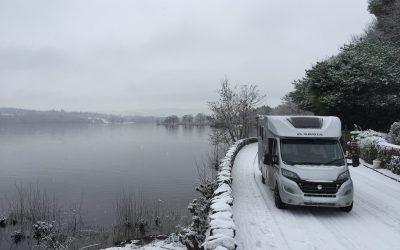 Driving a motorhome from Loch Lomond to Glencoe…