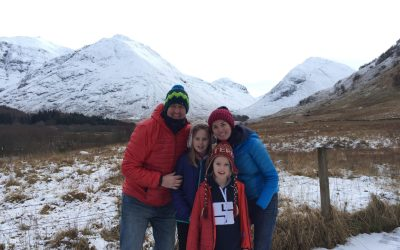 Tackling Snow in a Motorhome!!! Glencoe, Ben Nevis, Loch Ness in a day!!
