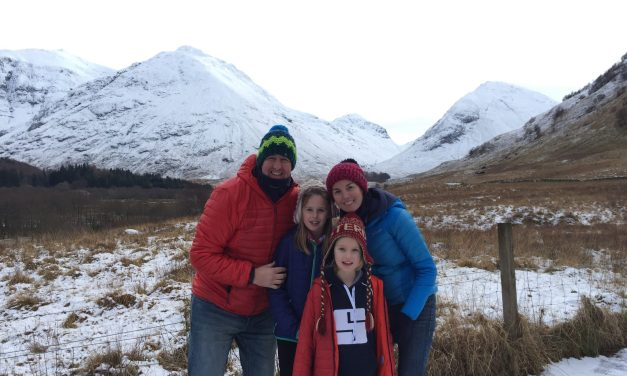 Tackling Snow in a Motorhome!!! Glencoe, Ben Nevis, Loch Ness in a day!!