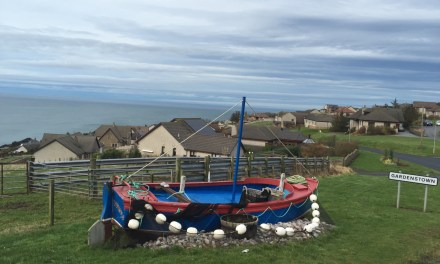 Visiting the lesser known east coast of Scotland – Finding the Glorious Gorse in Gardenstown…