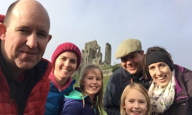 Exploring Corfe Castle & Lulworth Cove