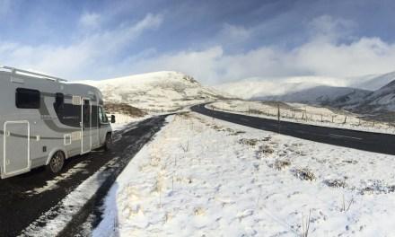 Lifeinourvan Europe Roadtrip   Dashcam Footage   Scotland   Cairngorms