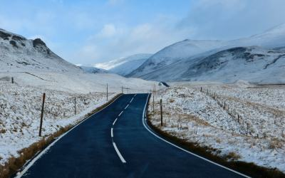 Scotland Winter Roadtrip | Discovering Scotland's Snow Roads Route over Glenshee