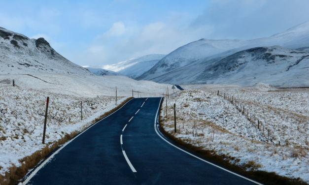 Scotland Winter Roadtrip | Discovering Scotland's Snow Roads Route over Glenshee