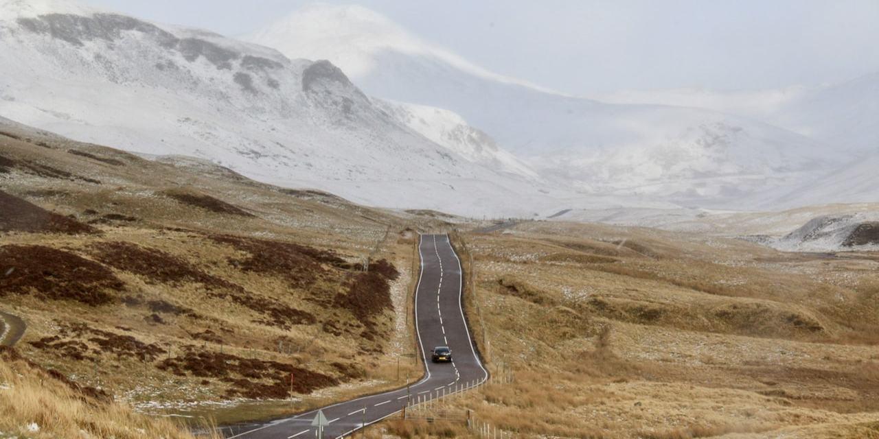 LifeinourVan | Starting our 10 Day Winter Roadtrip to Scotland