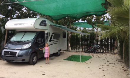 Clean at last…. After that pummelling in the Camping La Marina Spa, there can be no doubt!!!