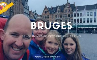 LifeinourVan City Reviews | Bruges | Belgium