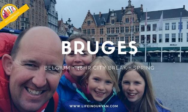 LifeinourVan City Reviews   Bruges   Belgium