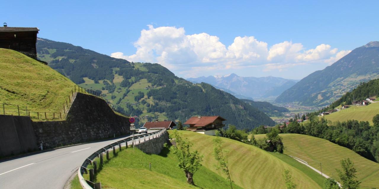 Austria | Taking the Gerlos Alpine Pass to Camping Aufenfeld