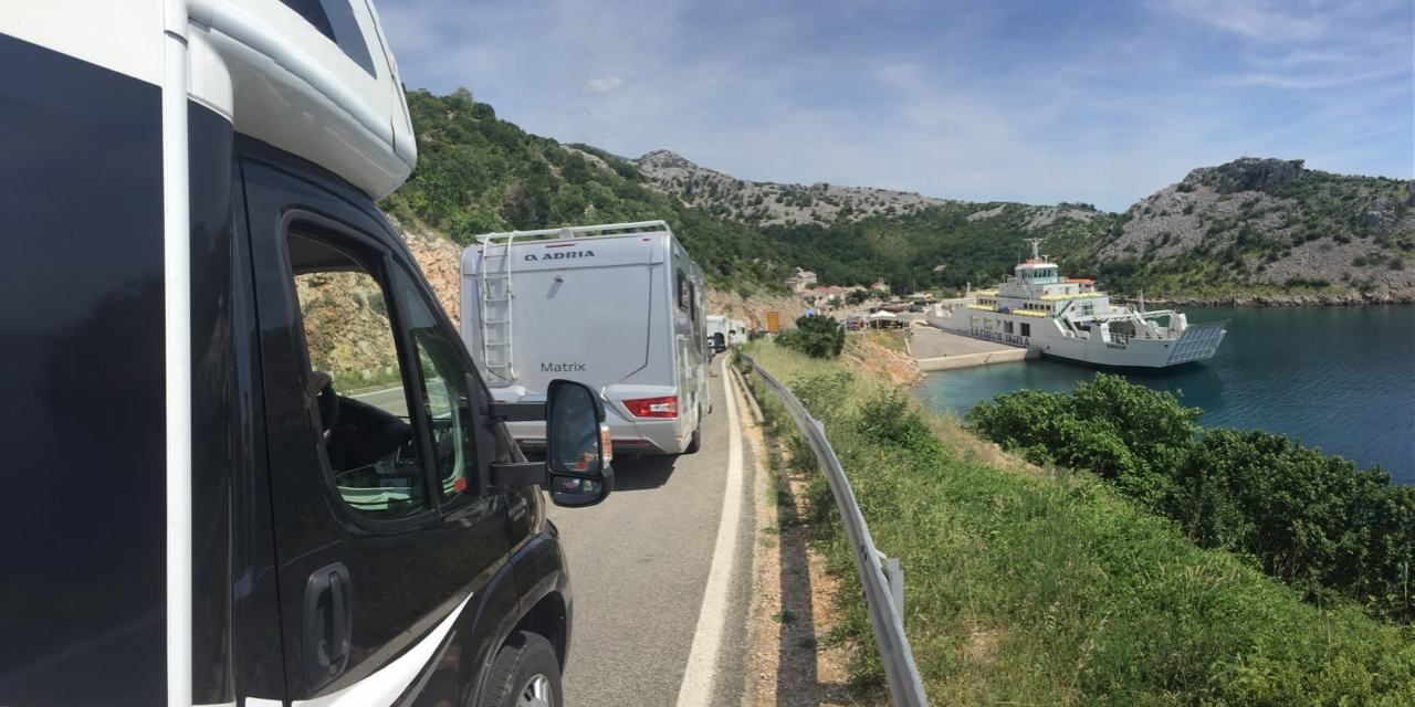 Motorhoming in Croatia | Highway 8 | A Top 10 'Scenic Drive in Europe'