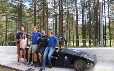Motorhoming in Norway |Testing our limits at Lillehammer Olympic Park