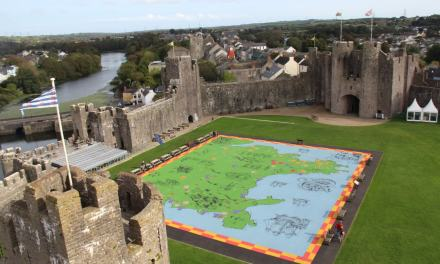 British History brought to life at Pembroke Castle in front of your own eyes!