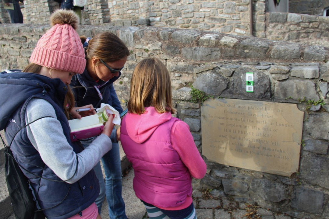 Pembrokeshire Day 5 - Pembroke Treasure Trail - 1 (1)