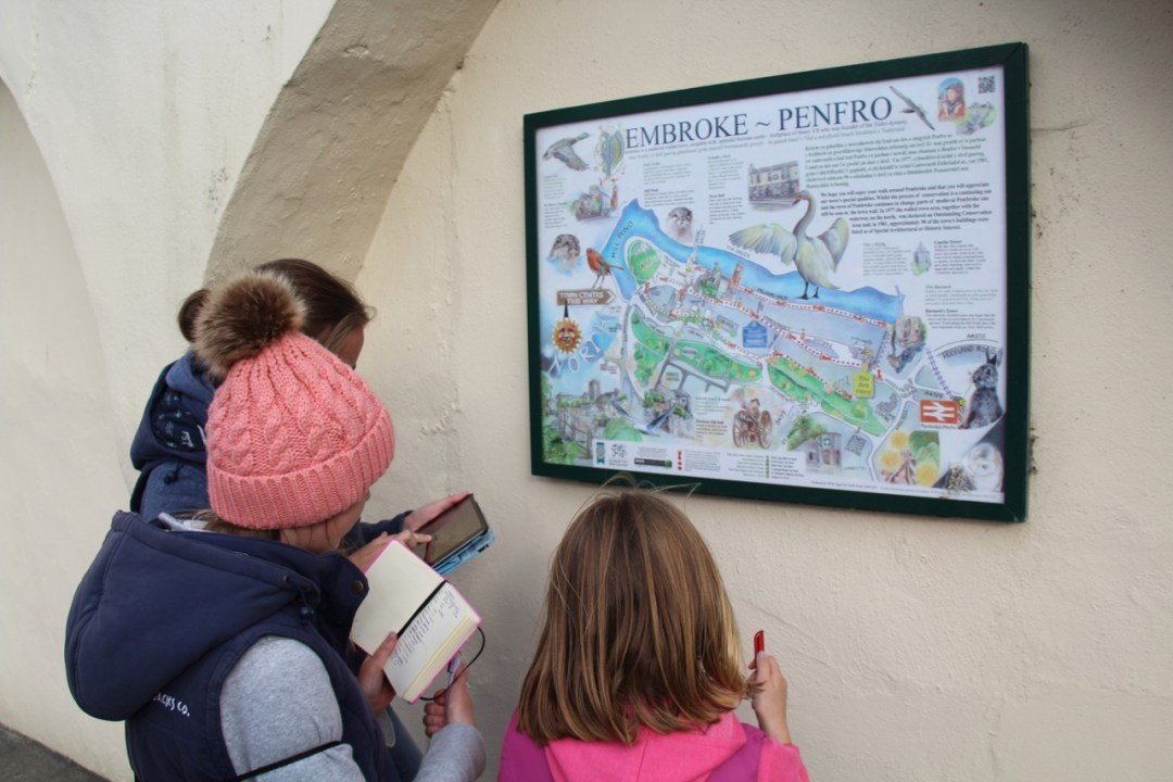 Pembrokeshire Day 5 - Pembroke Treasure Trail - 1 (6)