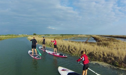Get the kids, its time for a SUP adventure on Ile de Re in France…
