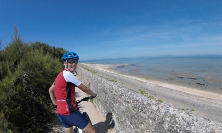 Grabbing a family bike adventure across Ile de Re