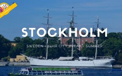 LifeinourVan City Reviews | Stockholm | Sweden