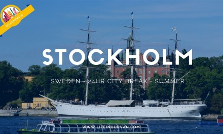 LifeinourVan City Reviews | Stockholm | Sweden