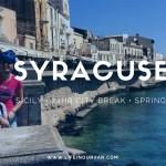 Motorhoming in Sicily | Stunning Syracuse…..