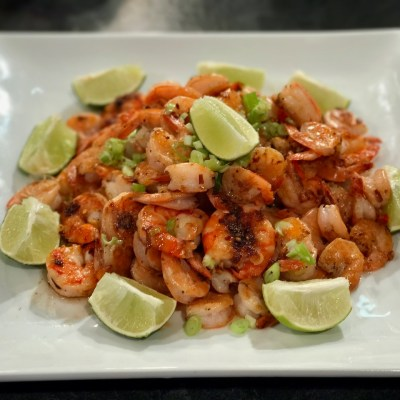Grilled Shrimp with Sweet Chili-Lime Sauce