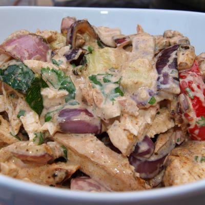 Firecracker Chicken Salad