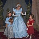 Meeting Cinderella Christmas Morning