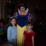 With Snow White Christmas morning
